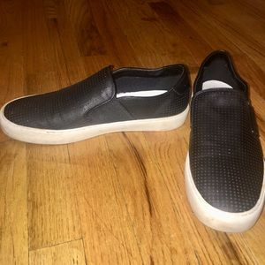 Marc Fisher Black Slip On Shoes